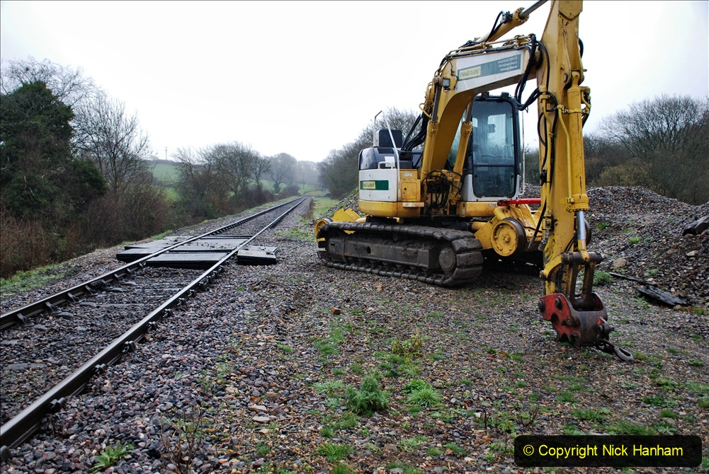 2020-01-31 SR Miscellany. (1) Cowpat Crossing to just past Dickers Crossing lineside tidy work. 001