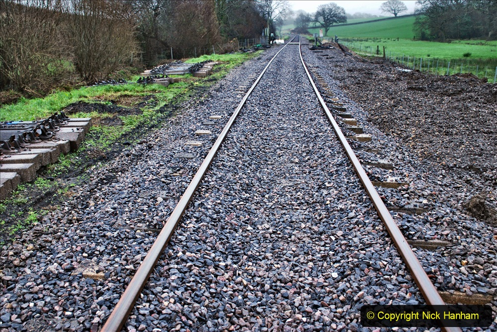 2020-01-31 SR Miscellany. (13) Cowpat Crossing to just past Dickers Crossing lineside tidy work. 013
