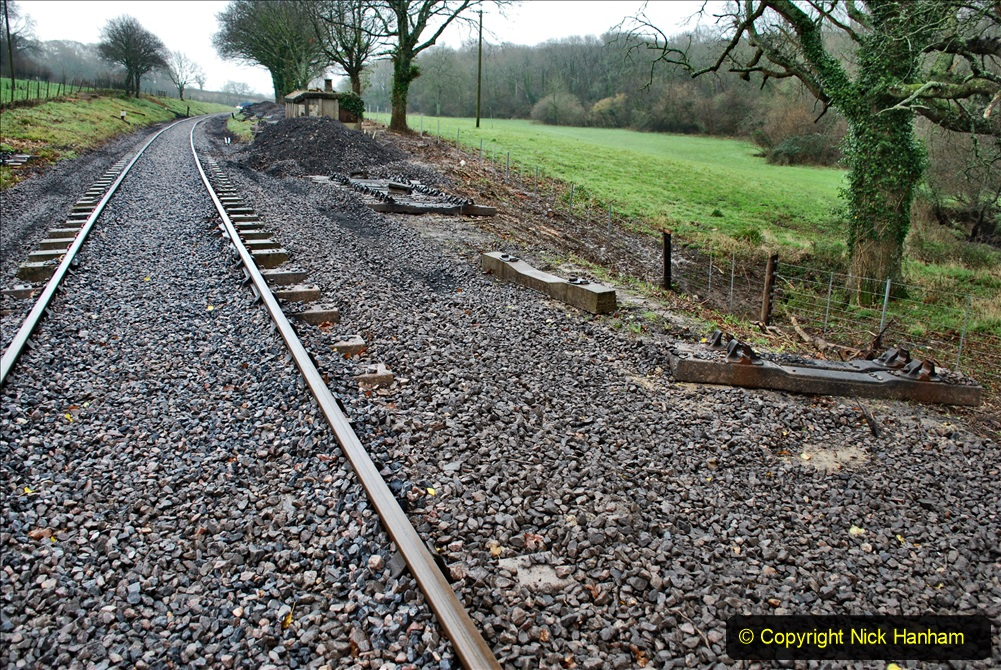2020-01-31 SR Miscellany. (3) Cowpat Crossing to just past Dickers Crossing lineside tidy work. 003