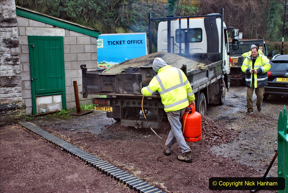 2020-01-31 SR Miscellany. (33) Corfe Castle Museum new surface entrance. 033