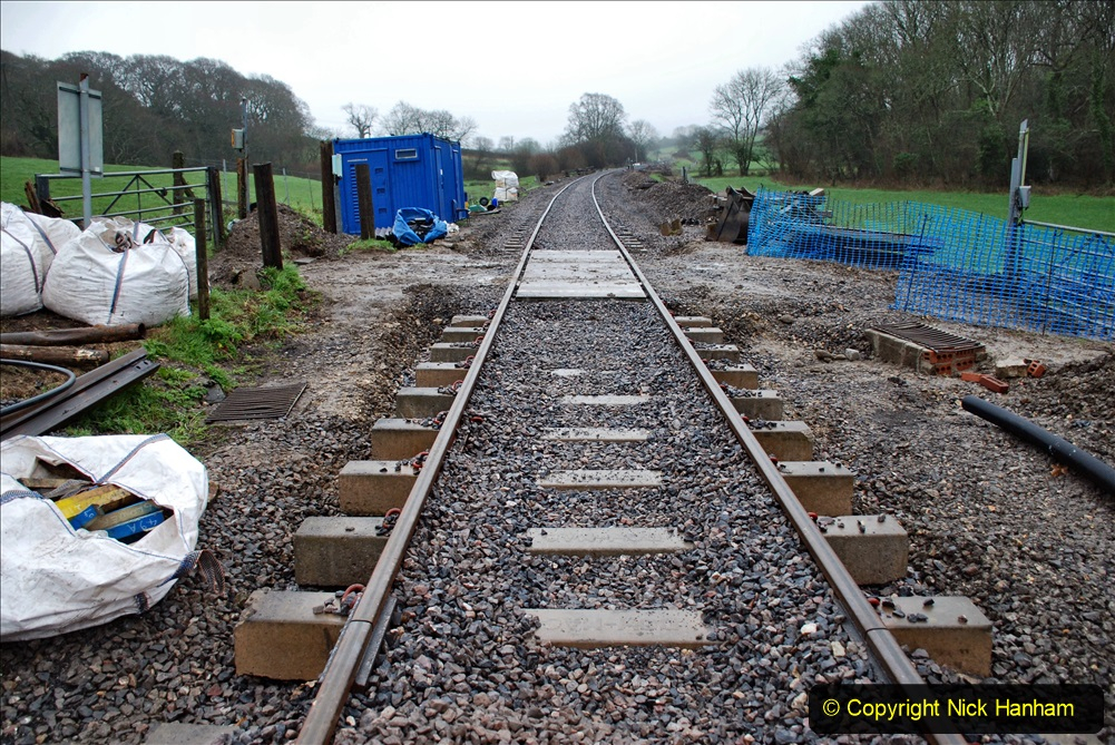 2020-01-31 SR Miscellany. (5) Cowpat Crossing to just past Dickers Crossing lineside tidy work. 005