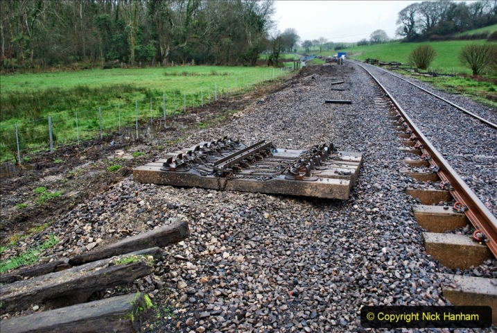 2020-01-31 SR Miscellany. (15) Cowpat Crossing to just past Dickers Crossing lineside tidy work. 015