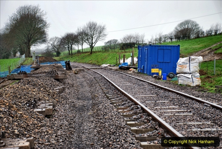 2020-01-31 SR Miscellany. (19) Cowpat Crossing to just past Dickers Crossing lineside tidy work. 019