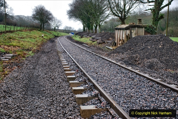 2020-01-31 SR Miscellany. (29) Cowpat Crossing to just past Dickers Crossing lineside tidy work. 029