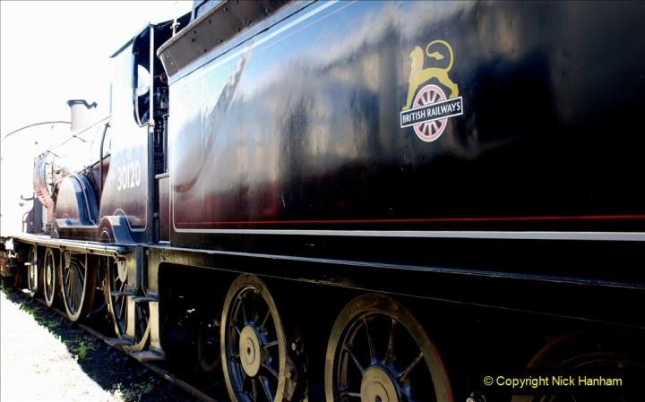 2020-07-11 SR runs it's first train since lockdown. (10) 010