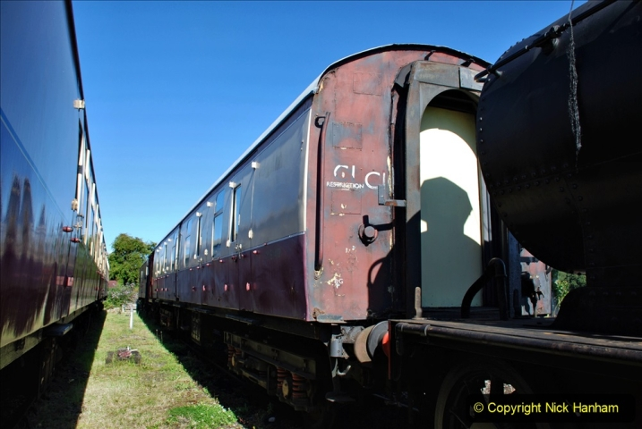 2020-07-11 SR runs it's first train since lockdown. (12) 012