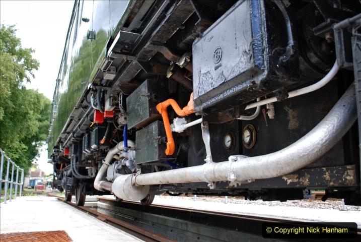 2020-07-11 SR runs it's first train since lockdown. (138) 138