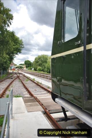 2020-07-11 SR runs it's first train since lockdown. (139) 139