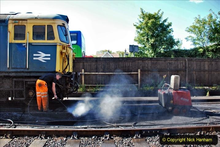 2020-07-11 SR runs it's first train since lockdown. (28) 028