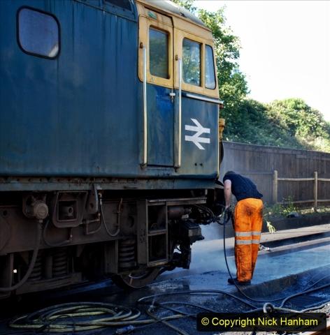 2020-07-11 SR runs it's first train since lockdown. (30) 030