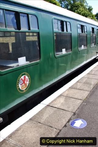 2020-07-11 SR runs it's first train since lockdown. (39) 039