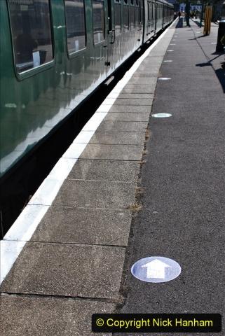 2020-07-11 SR runs it's first train since lockdown. (41) 041