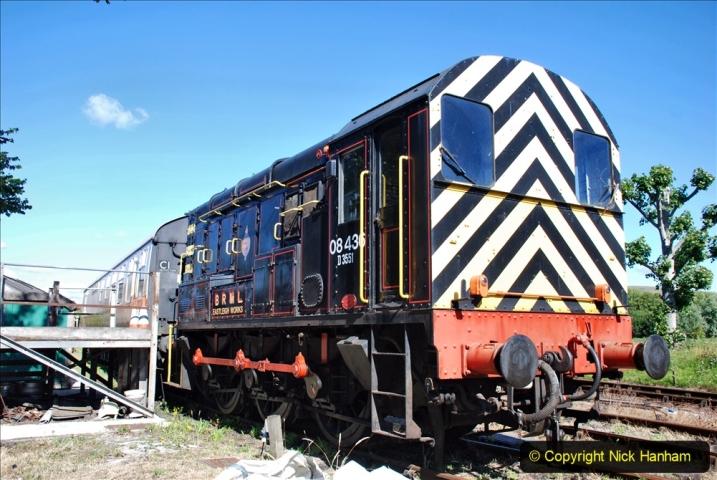 2020-07-11 SR runs it's first train since lockdown. (5) 005