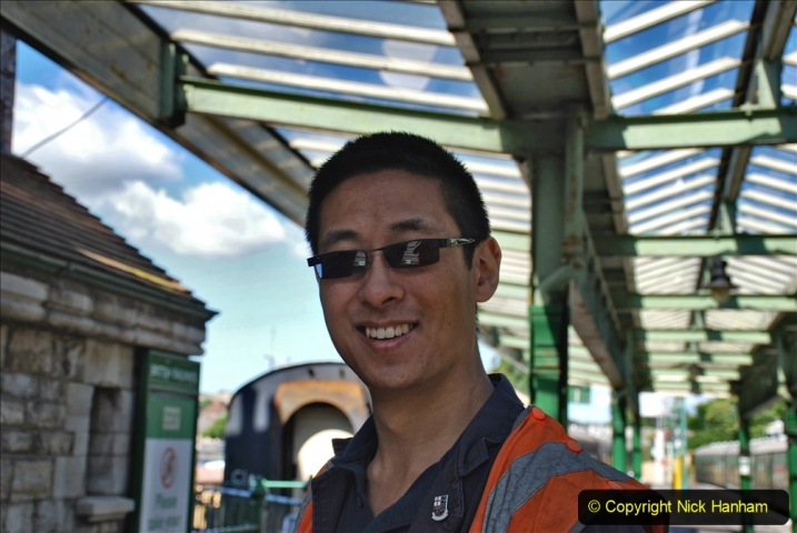 2020-07-11 SR runs it's first train since lockdown. (56) 056