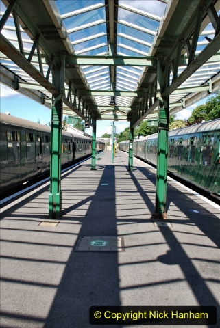 2020-07-11 SR runs it's first train since lockdown. (58) 058