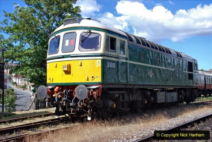2020-07-11 SR runs it's first train since lockdown. (68) 068