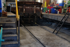 2019-12-23 SR Santa Specials. (56) In the Good's Shed Workshop. 056