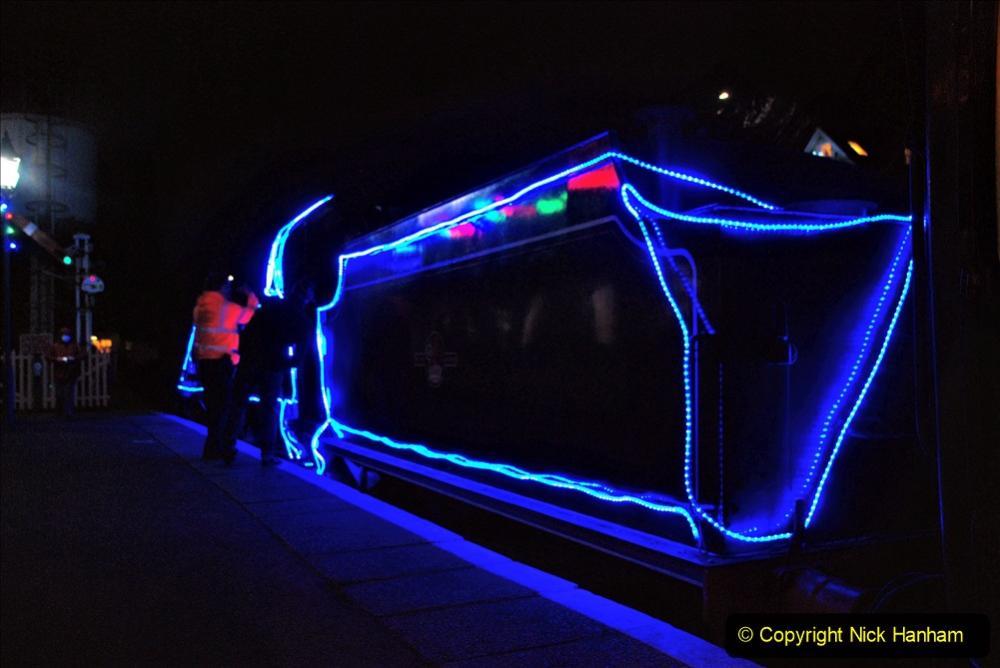 2020-12-04 Volunteer & Staff test train for Steam & Lights. (10) Swanage. 010