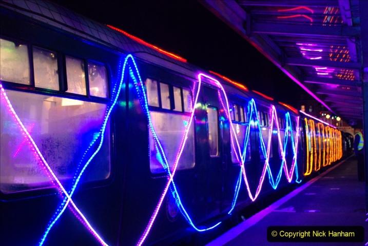 2020-12-04 Volunteer & Staff test train for Steam & Lights. (14) Swanage. 014