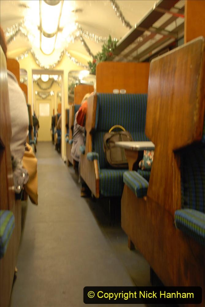 2020-12-04 Volunteer & Staff test train for Steam & Lights. (15) Swanage. 015