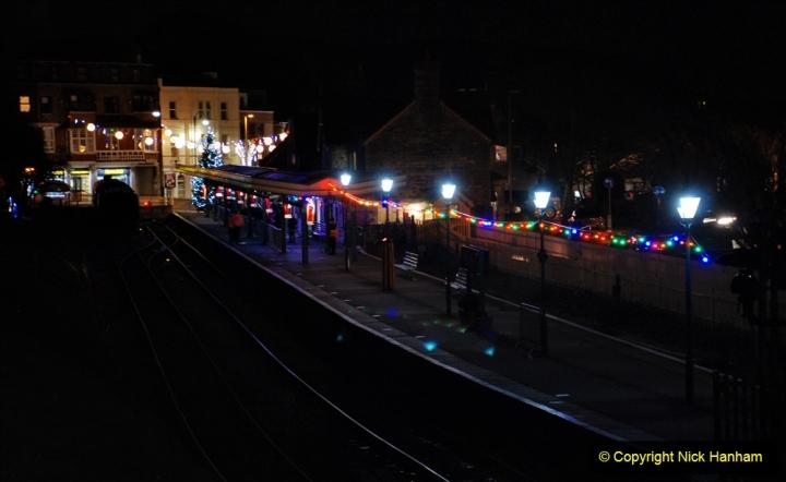 2020-12-04 Volunteer & Staff test train for Steam & Lights. (2) Swanage. 002