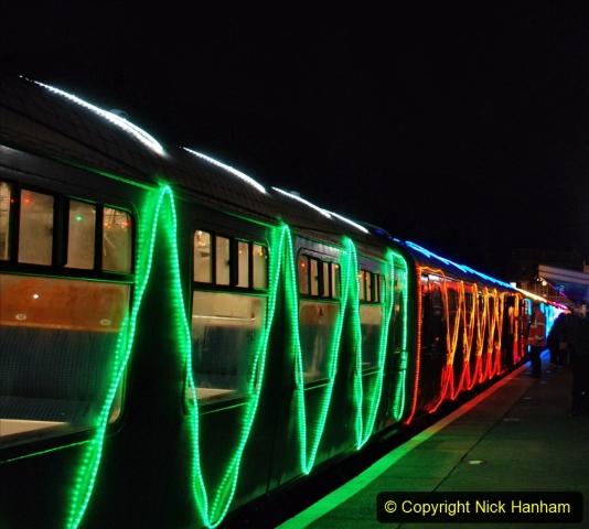 2020-12-04 Volunteer & Staff test train for Steam & Lights. (28) Swanage. 028