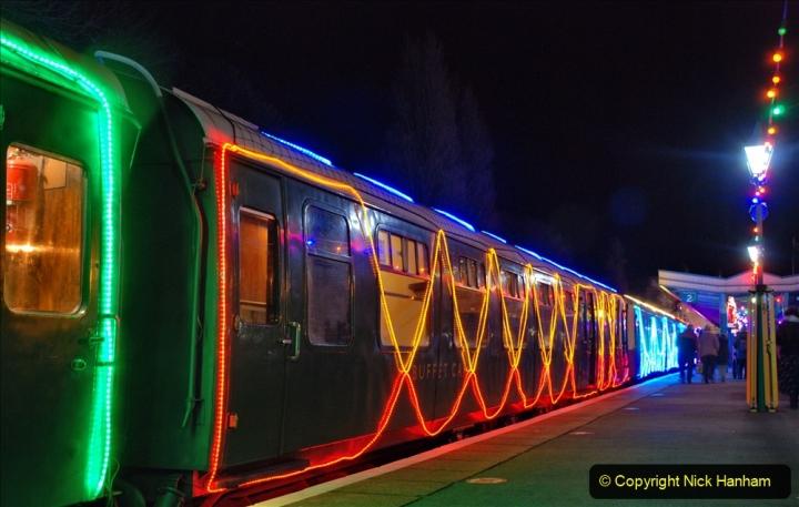 2020-12-04 Volunteer & Staff test train for Steam & Lights. (29) Swanage. 029