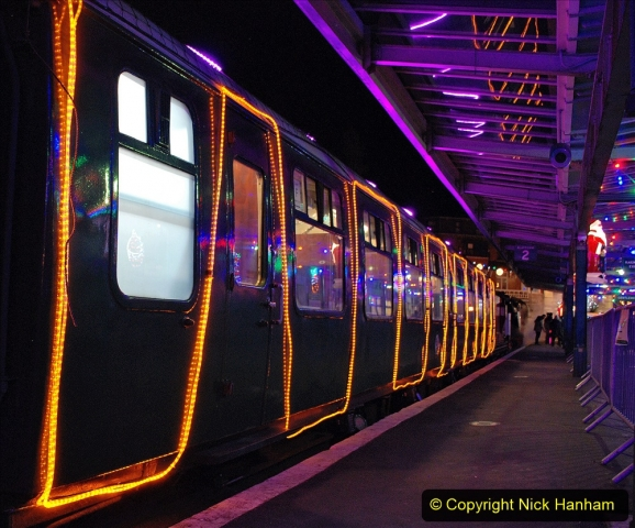 2020-12-04 Volunteer & Staff test train for Steam & Lights. (32) Swanage. 032