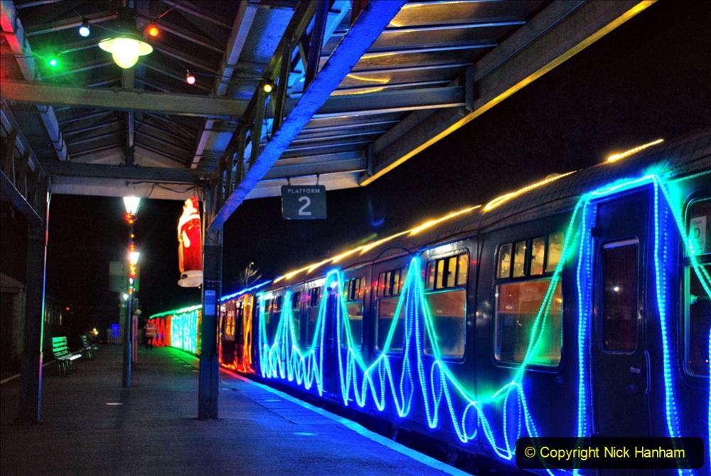 2020-12-04 Volunteer & Staff test train for Steam & Lights. (7) Swanage. 007