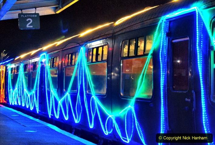 2020-12-04 Volunteer & Staff test train for Steam & Lights. (8) Swanage. 008