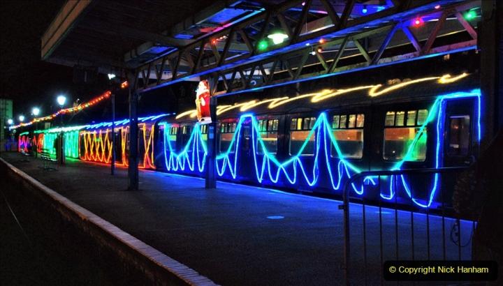 2020-12-04 Volunteer & Staff test train for Steam & Lights. (9) Swanage. 009
