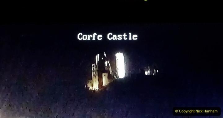 2020-12-05 Steam & Lights Corfe Castle Webcam. (6) 047