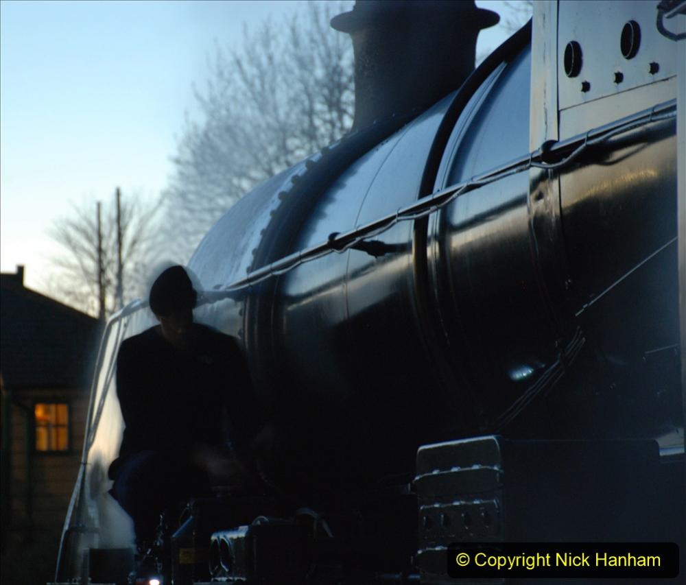 2020-12-12 SR Steam & Lights trackside. (10) Swanage. 060