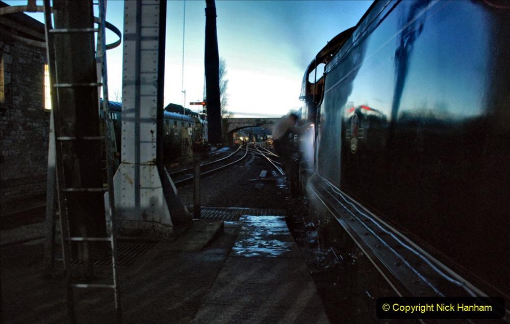 2020-12-12 SR Steam & Lights trackside. (11) Swanage. 061