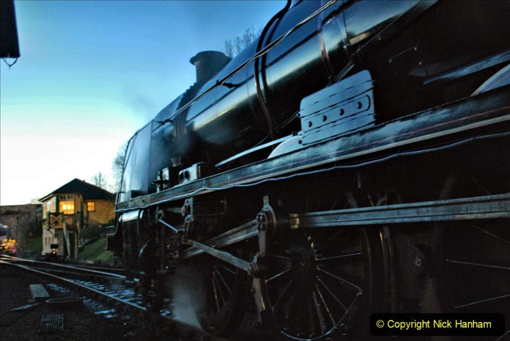2020-12-12 SR Steam & Lights trackside. (12) Swanage. 062
