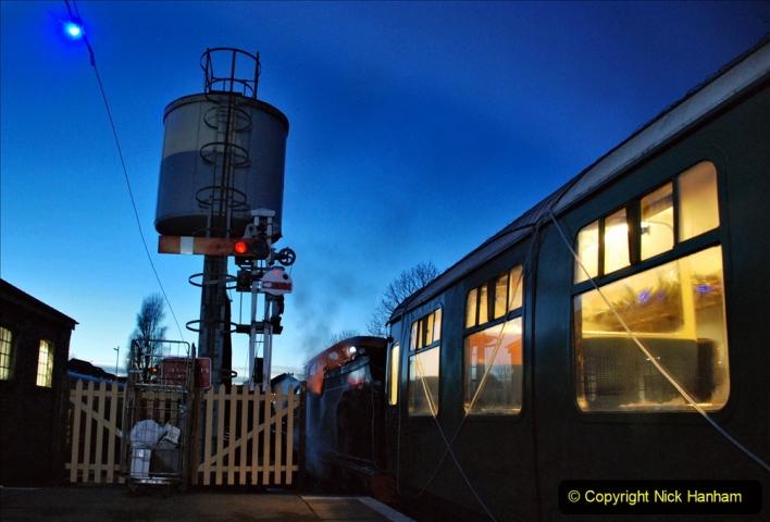 2020-12-12 SR Steam & Lights trackside. (13) Swanage. 063