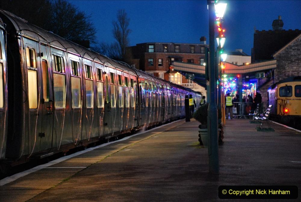 2020-12-12 SR Steam & Lights trackside. (15) Swanage. 065