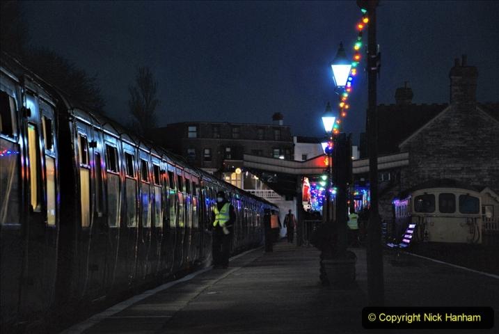 2020-12-12 SR Steam & Lights trackside. (16) Swanage. 066