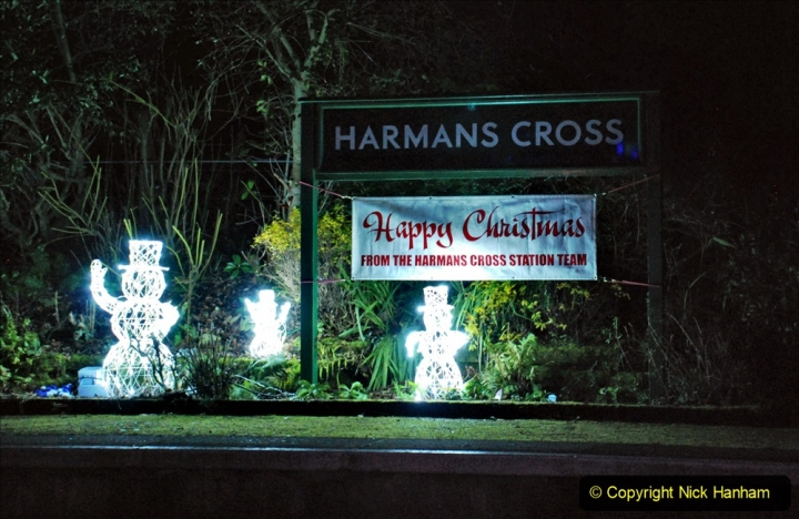2020-12-12 SR Steam & Lights trackside. (18) Harmans Cross. 068