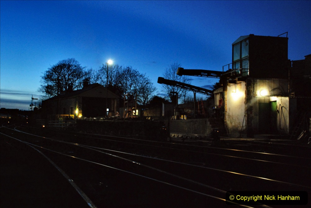 2020-12-12 SR Steam & Lights trackside. (2) Swanage. 052