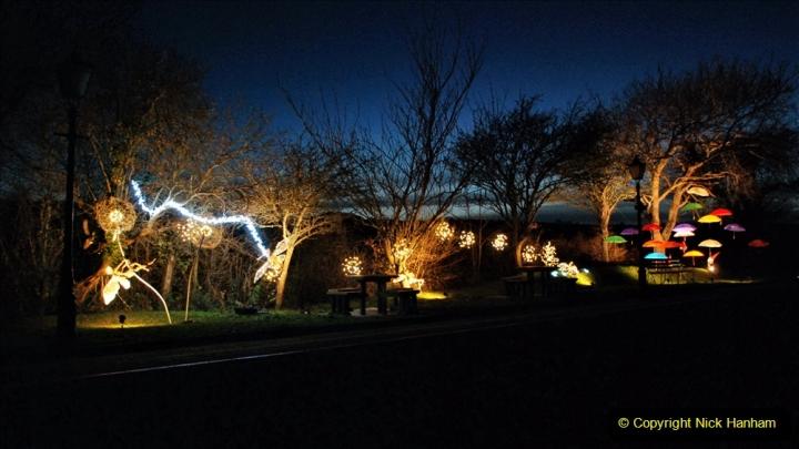 2020-12-12 SR Steam & Lights trackside. (22) Harmans Cross. 072