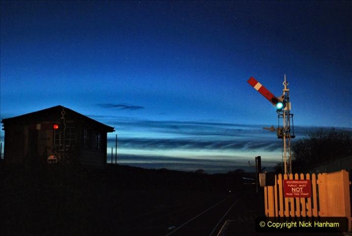 2020-12-12 SR Steam & Lights trackside. (25) Harmans Cross. 075
