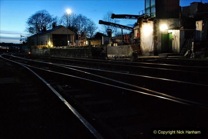2020-12-12 SR Steam & Lights trackside. (3) Swanage. 053