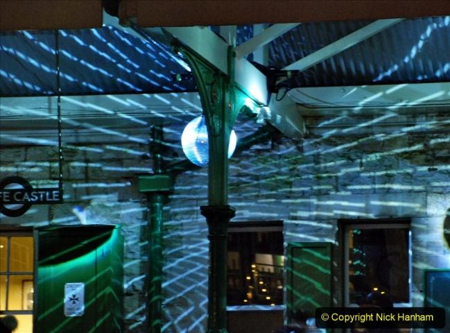 2020-12-12 SR Steam & Lights trackside. (37) Corfe Castle. 087