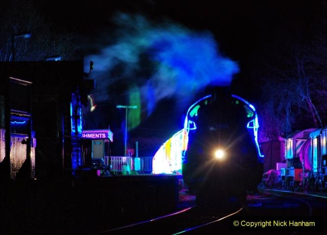 2020-12-12 SR Steam & Lights trackside. (49) Norden. 099
