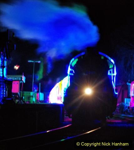 2020-12-12 SR Steam & Lights trackside. (50) Norden. 100