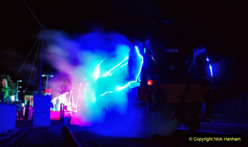 2020-12-12 SR Steam & Lights trackside. (56) Norden. 106