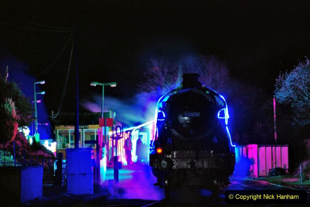 2020-12-12 SR Steam & Lights trackside. (59) Norden. 109