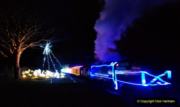 2020-12-12 SR Steam & Lights trackside. (66) Afflington. 116