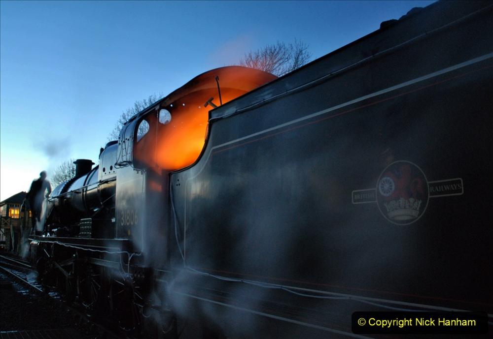 2020-12-12 SR Steam & Lights trackside. (7) Swanage. 057